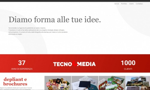 (work in progress) tecnomedialab.it 2019. Agenzia di pubblicità. Sito web business.